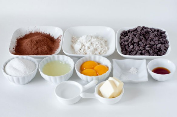 Chocolate Cake-Ingredients