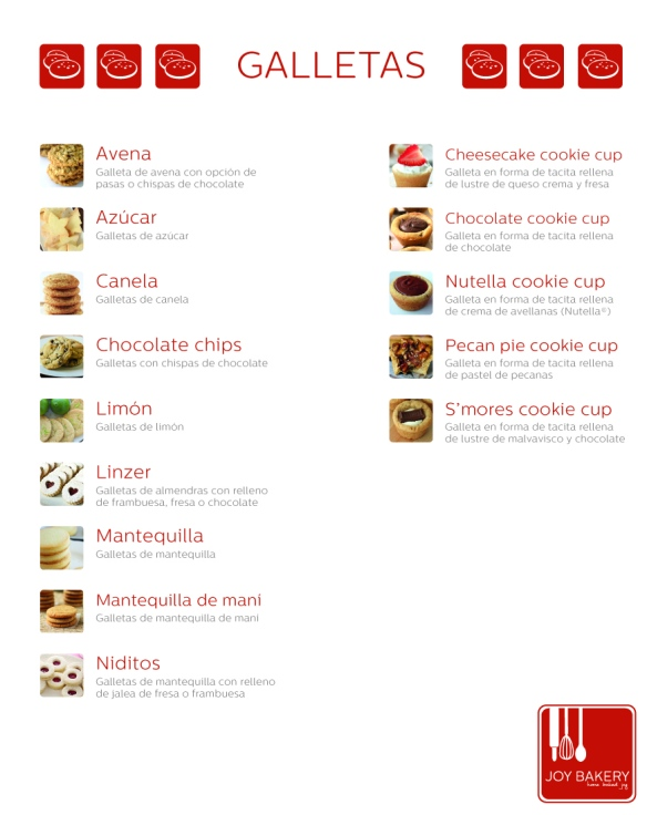 MENU Galletas 15