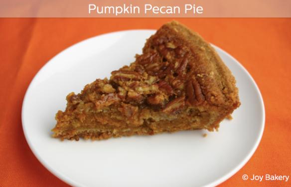Pumpkin Pecan Pie-Joy Bakery