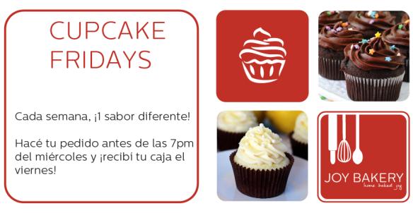 Cupcake Fridays - Joy Bakery