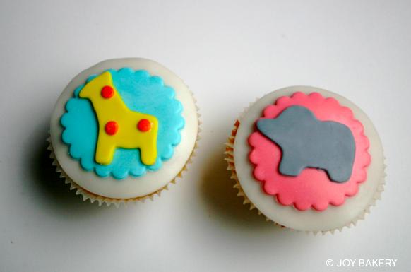 Baby Shower Cupcakes - Joy Bakery