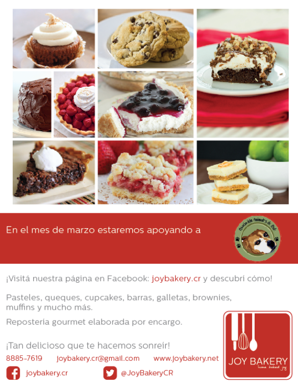 Joy Bakery - Asoc Animales Asis