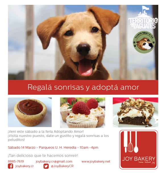 Regala Sonrisas - Adopta Amor - Joy Bakery