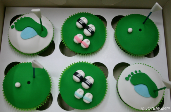 FathersDay Golf Cupcakes - Joy Bakery