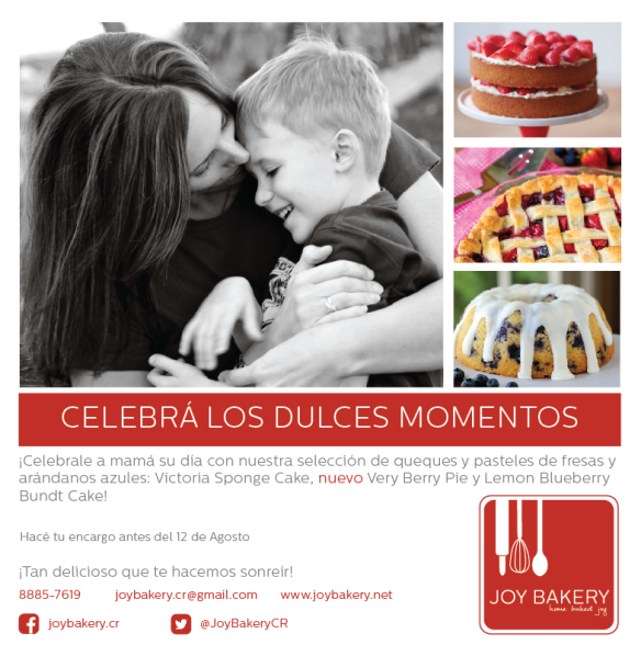 Dia de la Madre Joy Bakery 2015