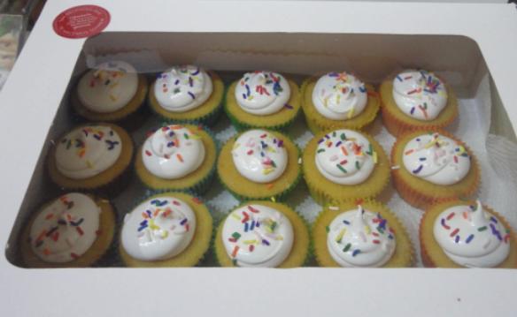 Pinata Cupcakes - Joy Bakery