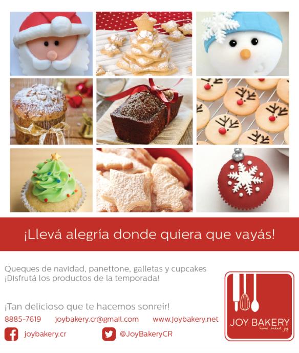 Navidad 2015 - Joy Bakery