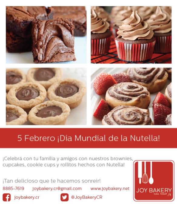 World Nutella Day - Joy Bakery